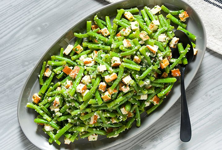GREEN BEAN SALAD WITH COTIJA