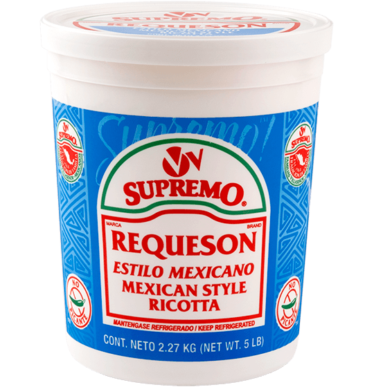 requeson ricotta mexican cheese  vv supremo foods inc