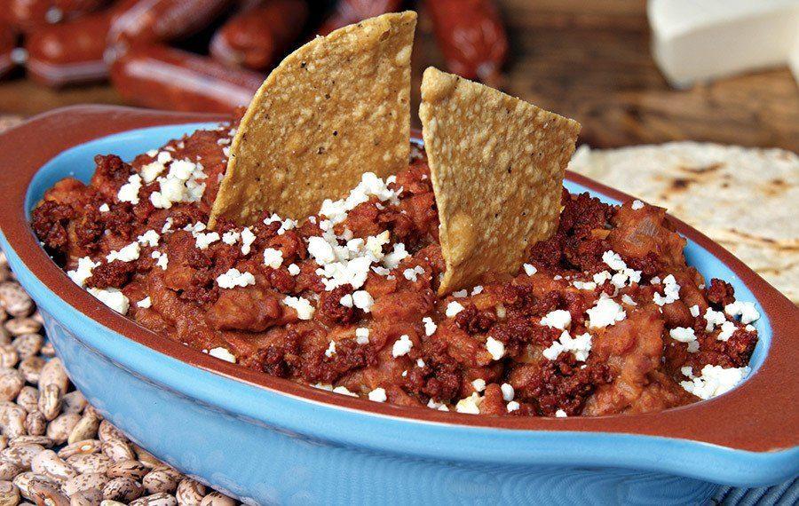 Beans and Chorizo