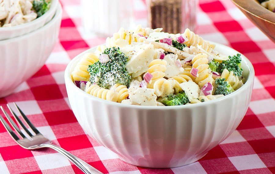 Chicken Broccoli Pasta Salad