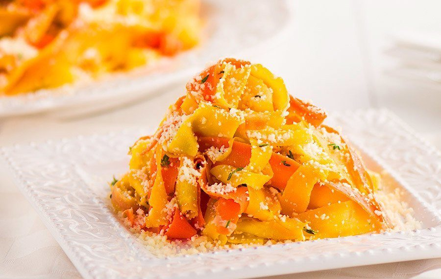 Carrot Pappardelle