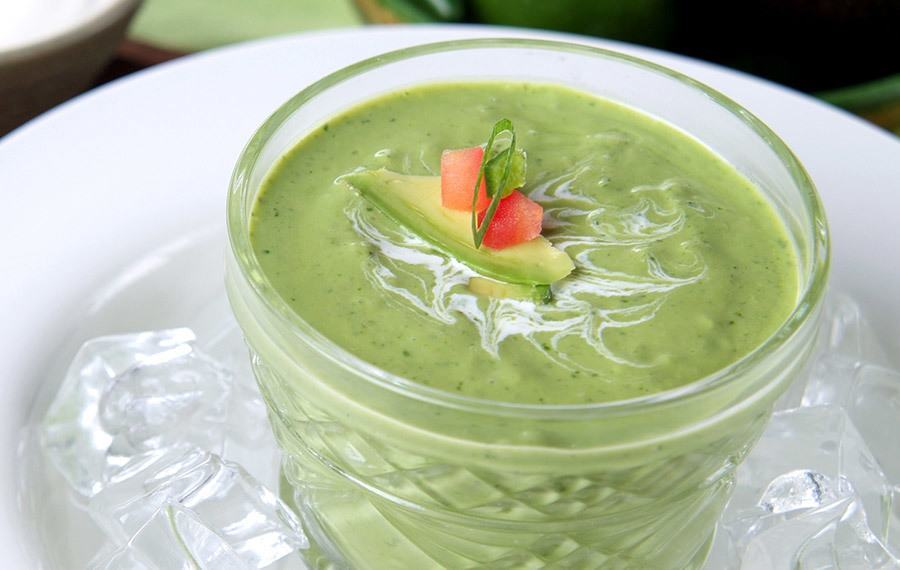 Chilled Avocado Soup - V&V Supremo Foods, Inc.
