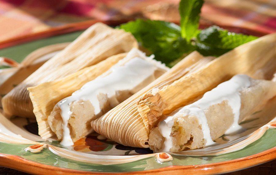 Coconut Tamales