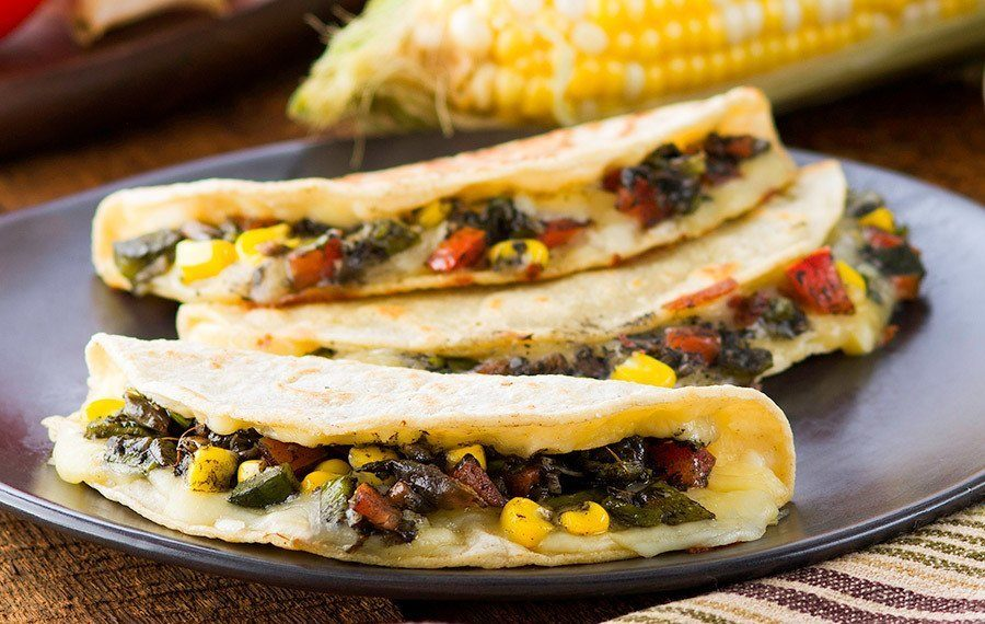 Huitlacoche Corn Mushroom Quesadilla V V Supremo Foods Inc