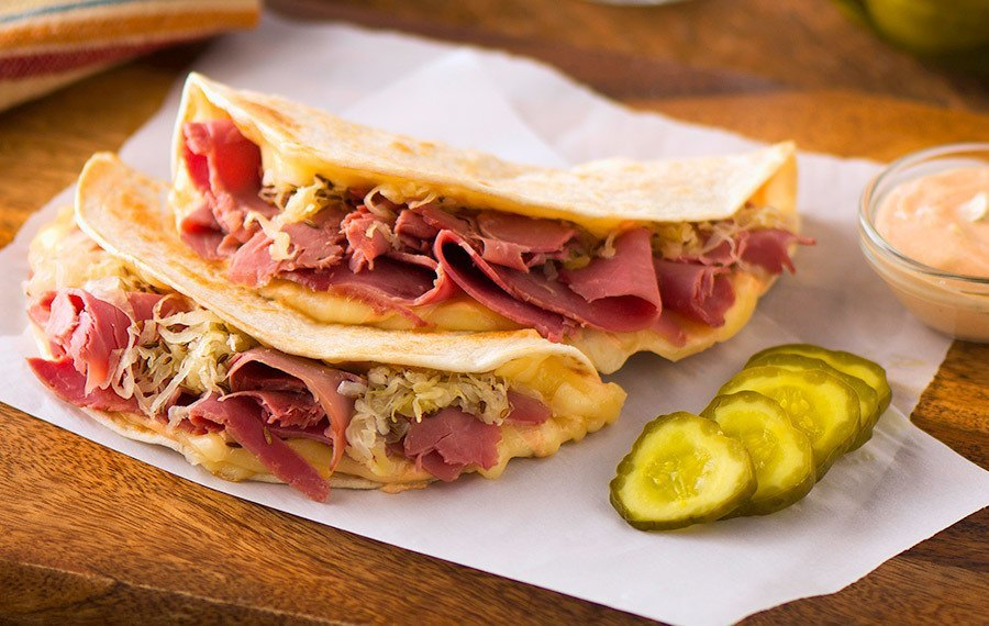 Reuben Quesadillas - V&V Supremo Foods, Inc.