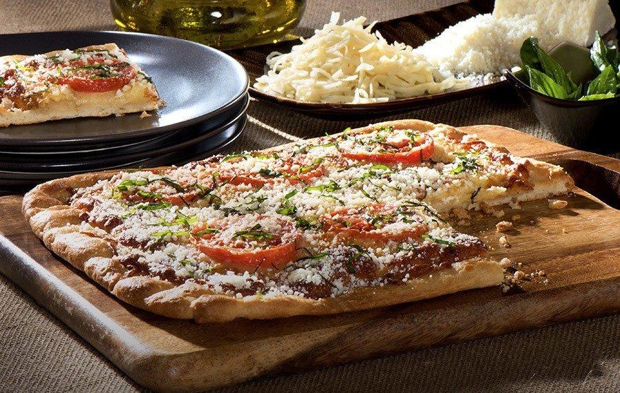 Pizza con Ajo Rostizado