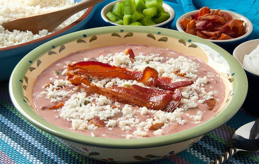 Salvadoran Red Bean Soup