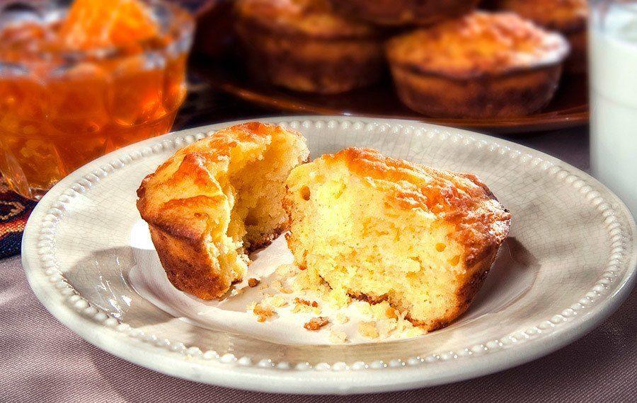 Muffins con Dos Quesos