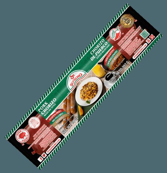 High Quality Pork Chorizo Original Gluten Free No