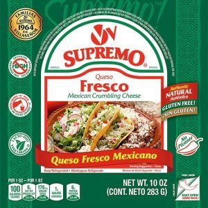 Queso Fresco Mexican Cheese