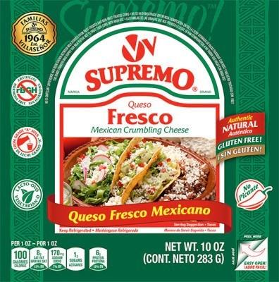Queso Fresco Mexican Cheese