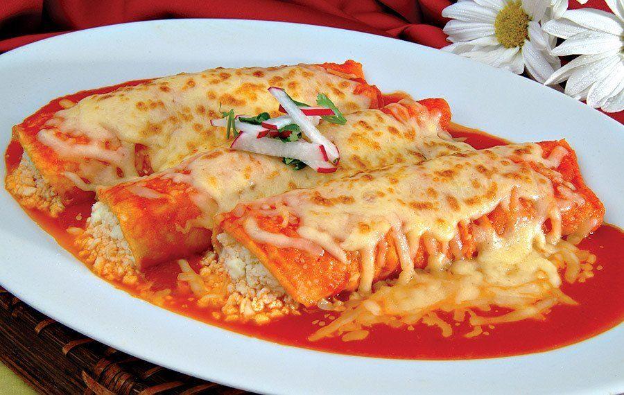 Red Enchiladas Suizas - V&V Supremo Foods, Inc.