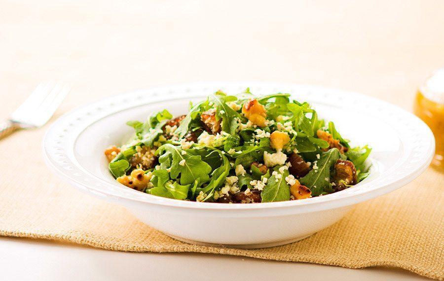 Arugula Salad with Dates