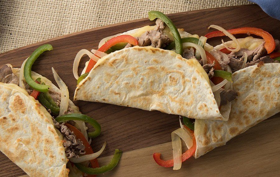 Deli Roast Beef Quesadillas