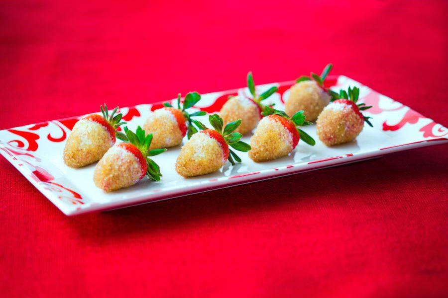 Fresas con Crema y Azúcar