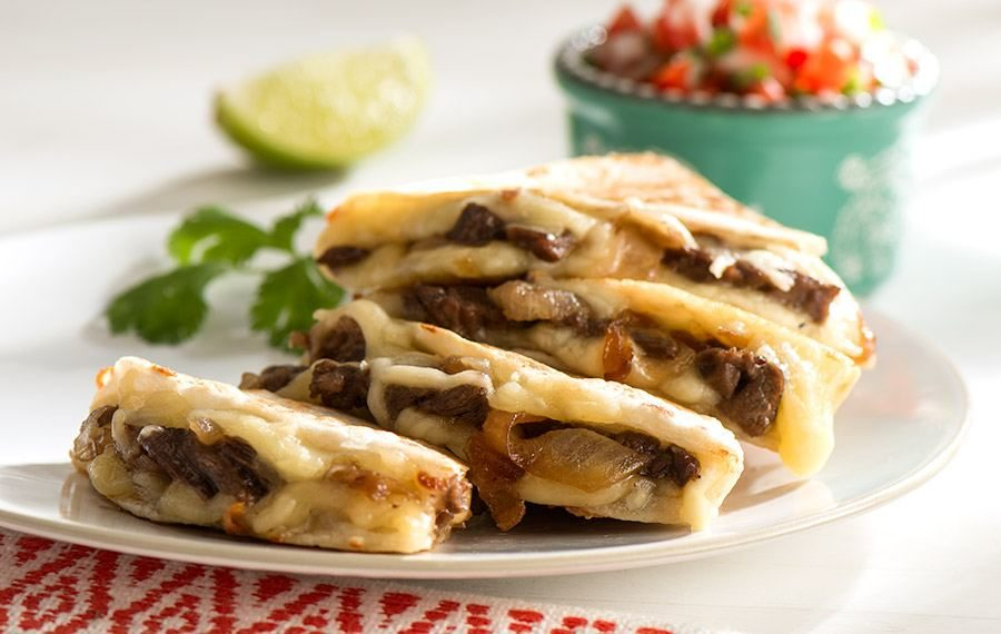 Skirt Steak Quesadilla