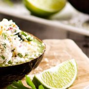 Stuffed Avocado with Spicy Crab Ceviche-HC