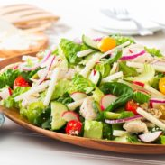 Chicken and Jicama Salad