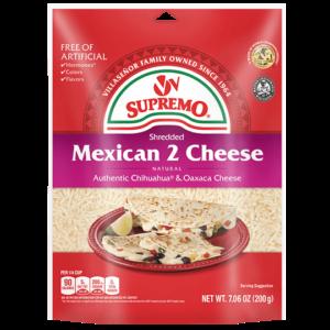 Shredded Chihuahua Brand Quesadilla Cheese From V V Supremo