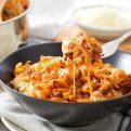 Cheesy Chorizo Pasta