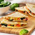 Ham and Spinach Quesadillas