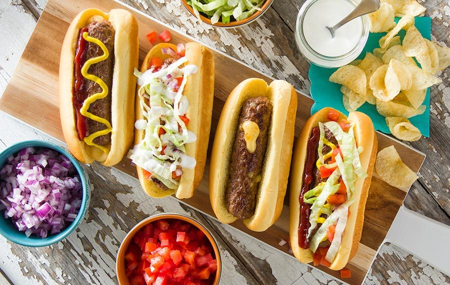 Cheeseburger Dogs