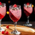 Raspberry Mousse Parfait