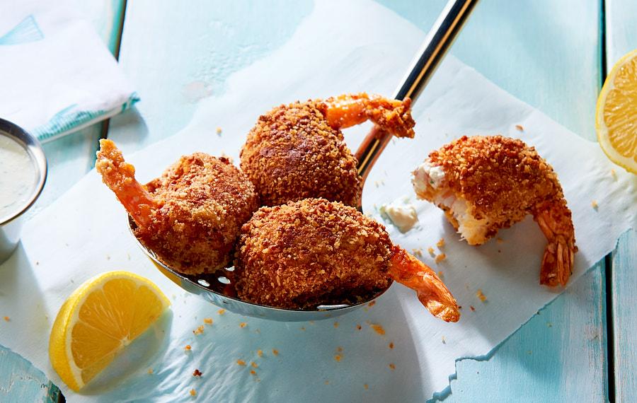 Fried Shrimp Potato Balls