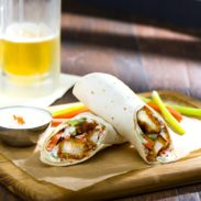 Fun and flavor in every bite! Excite your taste buds with our Buffalo Chicken Wraps!