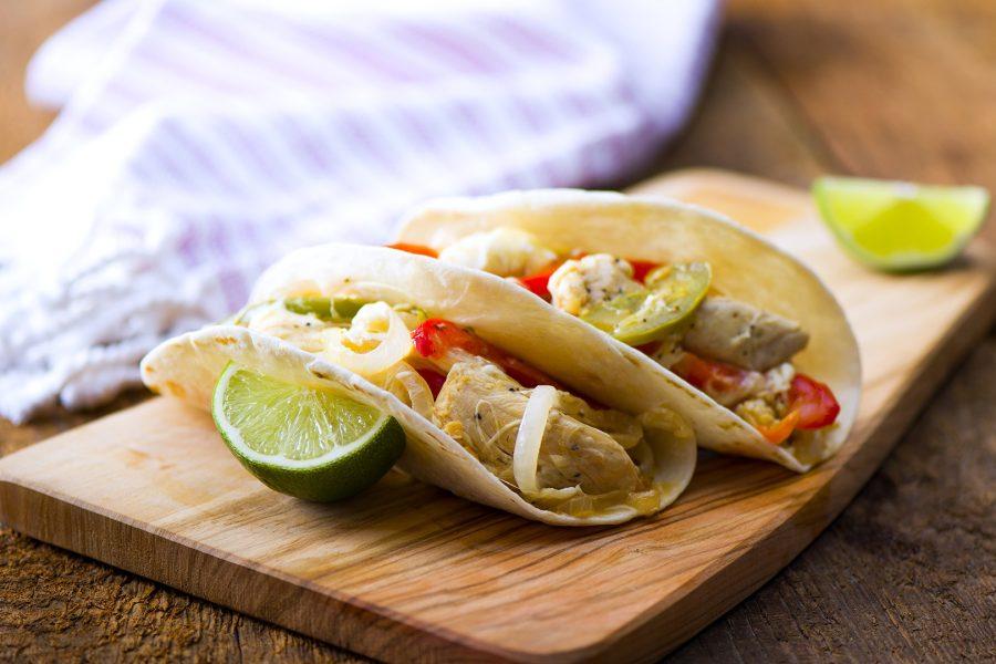 Chicken Fajita Tacos