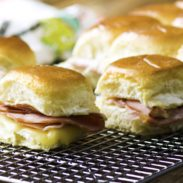 These Mini Hot Ham Sandwiches with Cheese are so delicious and easy to make that you will soon make them for every occasion!