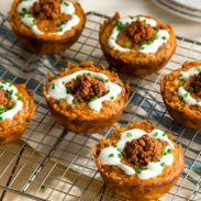 Chorizo Hash Brown Cups