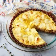 Quinoa Crust Quiche