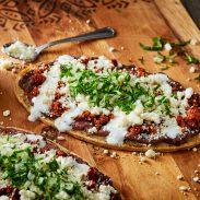 Chorizo and Beans Huaraches