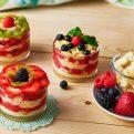 Three Berry Trifle