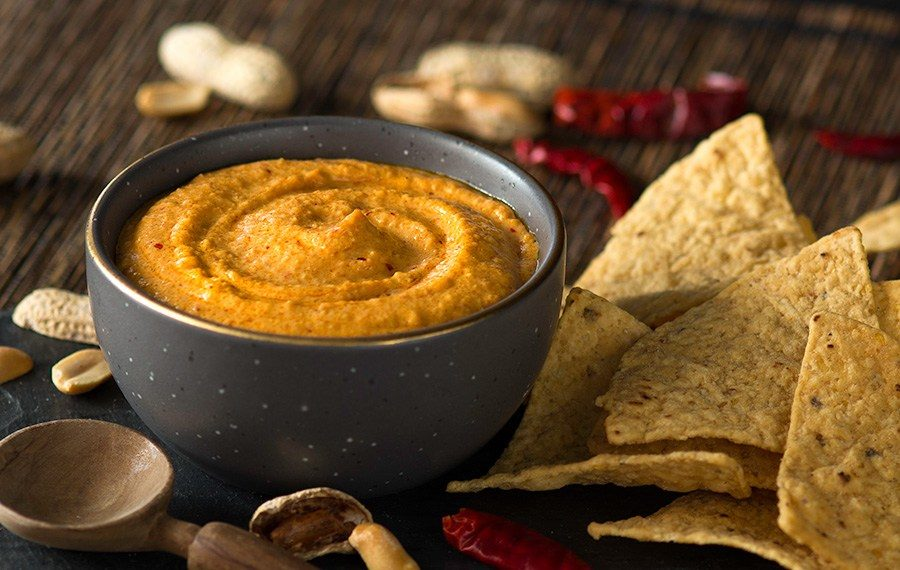 Spicy Creamy Peanut Salsa