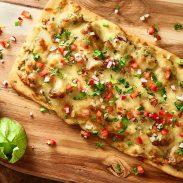 Mexican Salsa Verde Braised Pork Pizza