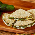 Roasted Poblano Quesadilla