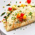 3 Cheese Egg White Omelet