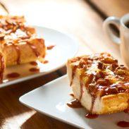 Open Faced Caramel Pecan Sandwich