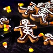 Skeleton Chocolate Cinnamon Cookies Recipe