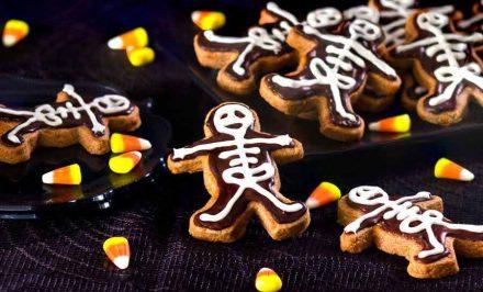 Skeleton Chocolate Cinnamon Cookies Recipe