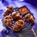 Calaveras Rellenas de Chorizo y Queso