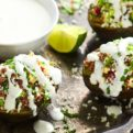 Stuffed Grilled Avocados Recipe
