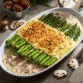 Asparagus & Mushroom Gratin