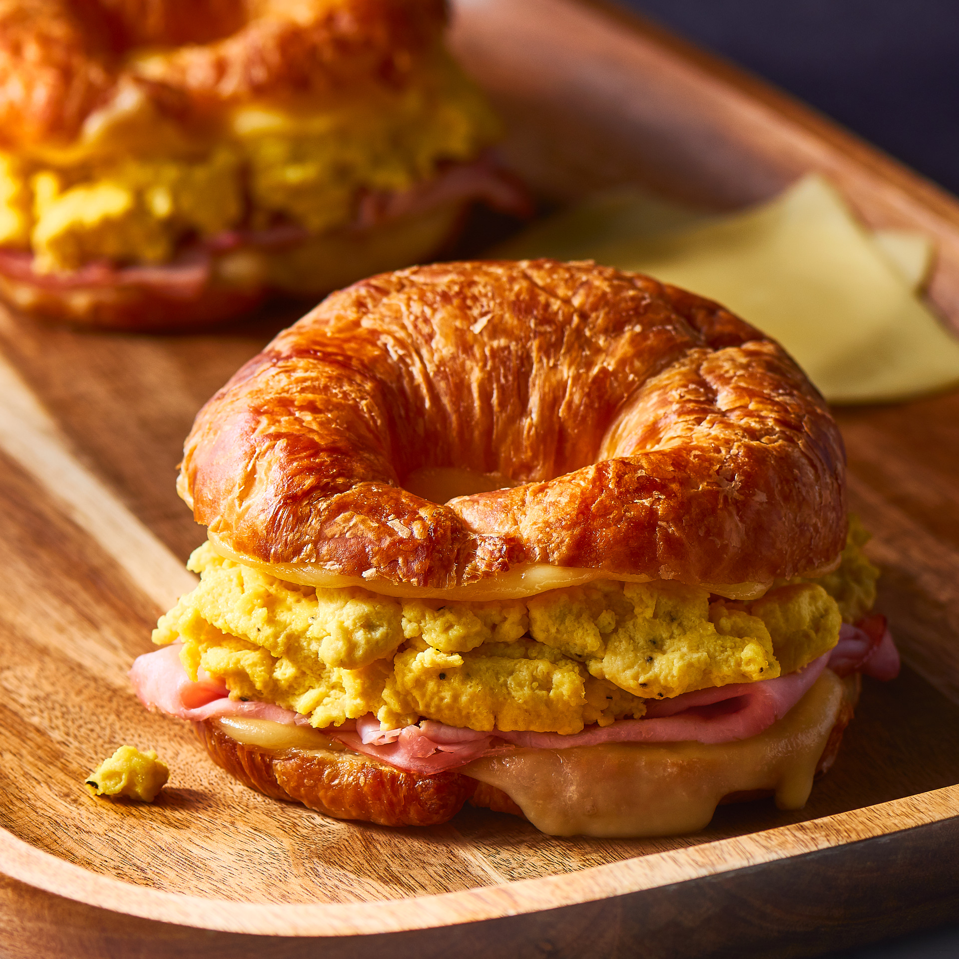 Easy Ham & Cheese Croissants