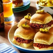 Homestyle Chorizo Sloppy Joes