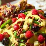 Berry Salad with Turmeric Dressing