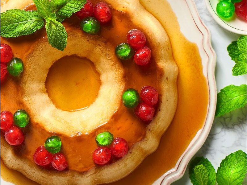 Caramel Cheese Flan
