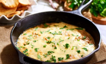 Cheesy Caramelized Onion Dip